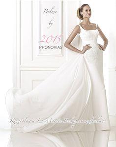 Belwe by Pronovias - 2015 Collection - La Novia Bridal Shop Wedding Dresses For Sale, Wedding Dress Shopping, Designer Wedding Dresses, Wedding Gowns, Lace Detail, One Shoulder Wedding Dress, Bridal, Elegant, Edinburgh
