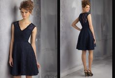 Navy Blue Lace Sweetheart Navy Blue Bridesmaid Dresses 2015 High Quality Vesta De Festa Party Dress Prom Gowns from Ericdress214,$82.73   DHgate.com