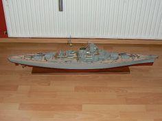 Scale Model Ships, Scale Models, Bismarck Model, Color, Home Decor, Decoration Home, Room Decor, Colour, Scale Model