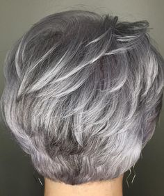 60 gorgeous gray hair styles in 2019 hair styles grey hair, Short Grey Hair, Short Hair With Layers, Short Hair Cuts For Women, Silver Grey Hair Gray Hairstyles, Grey Hair Over 50, Short Silver Hair, Grey Hair Styles For Women, Curly Short, Short Layered Haircuts