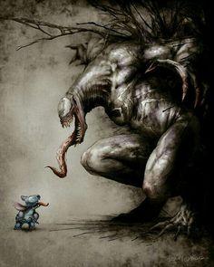 Venom & Stitch.