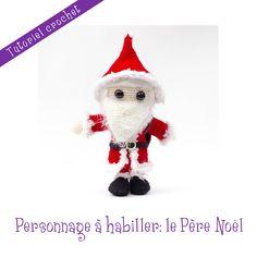 Patron crochet: poupée Père Noël et ses accessoires : Matériel Crochet par le-royaume-des-tetes-d-epingles