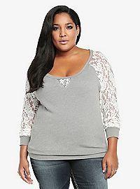 Plus Size T Shirts & Tees for Women: Tunic, V Neck | Torrid