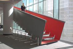 "Diller Scofidio + Renfro, ""Slow Staircase"" at The Juilliard School."