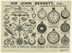 Women's Period Research- Jewelry and Watches