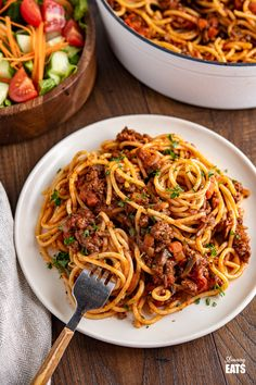 Best Ever Rich Spaghetti Bolognese - Enjoy a delicious bowl of this homemade Rich Spaghetti bolognese - a firm family favourite. #beef #pasta #slimmingworld #weightwatchers #bolognese Slimming Eats, Slimming World Recipes, Slimming Word, Other Recipes, New Recipes, Mince Recipes, Meatball Recipes, Yummy Pasta Recipes, Vegetarian Recipes