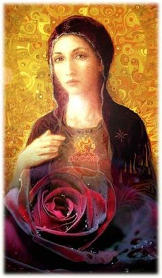 Marie Madeleine - Home Decora La Maison Mary Magdalene And Jesus, Mary And Jesus, Divine Mother, Blessed Mother Mary, Sacred Feminine, Divine Feminine, Religious Icons, Religious Art, Mary Of Bethany