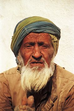 elderly arabian