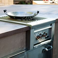 High Burner Ultimate Outdoor Kitchen Sunset Backyard Makeover Stir Fry