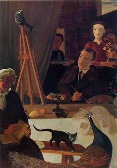 'The Painter and his Family' -  André Derain (1880-1954)