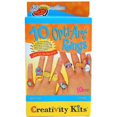 Creativity for Kids Opti-Art Rings