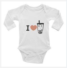 I heart boba I love boba Infant Long Sleeve Bodysuit https://www.at-lotus.com/products/i-heart-boba-i-love-boba-infant-long-sleeve-bodysuit