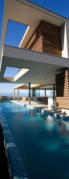 SAOTA, infinity, lap pool Pinned onto Pool Design by Darin Bradbury.