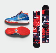 Cop the new red, white, and blue Kyrie 1 on Saturday. Get the Elite Crews now.