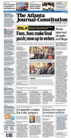 The Atlanta Journal-Constitution: July 31, 2012.