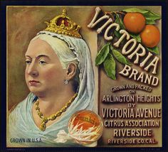 Victoria Brand: Grown and packed on Arlington Heights by Victoria Avenue Citrus Association, Riverside, Riverside Co. Cal. | Flickr : partag...