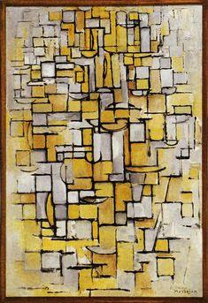 Piet Mondrian | Tableau No. 1, 1913 | 96 x 64 cm Oil on canvas Kröller-Möller Museum, Otterlo