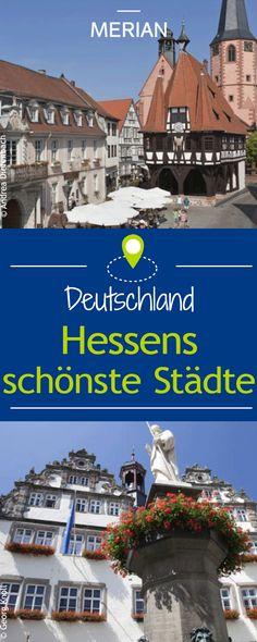 In Hessen gibt es einige schöne Städte zu entdecken. Wir zeigen euch die Schönsten.