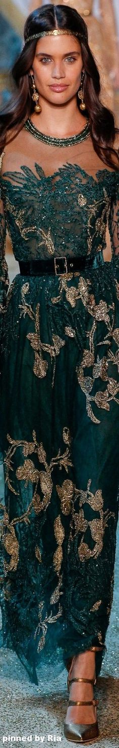 Elie Saab Fall 2017 Haute` Couture Collection l Ria