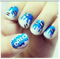 Oreo Nails