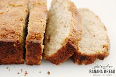 Gluten and Dairy Free - Banana Bread