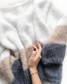 OVERSIZE KNITS studio (@oversize_knits) • Instagram photos and videos Knitting Yarn, Hand Knitting, Knitting Patterns, Crochet Patterns, Nerdy Valentines, Knit Cardigan Pattern, Cotton Crafts, Mohair Sweater, Couture