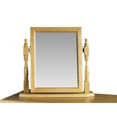 Julian Bowen Pickwick Solid Pine Dressing Table Mirror