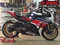 Honda CBR1000RR độ đầy chất chơi và phong cách tại Thái Lan | Show xe - 2banh.vn