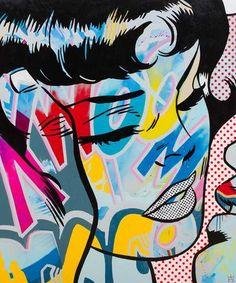 Hope by Ben Allen Art And Technology, Spray Painting, Pop Art, Street Art, Digital Art, Canvas, Creative, Prints, Recipes