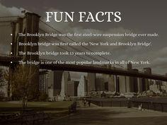 """Brooklyn bridge facts     Brooklyn:  Multicultural, tiene fabulosas vistas a Manhattan, barrios muy bien conservados, una historia llena de riqueza y una peculiar vida """"de barrio de New york    El St. Francis College, donde hacemos las clases y algunas actividades, tiene más de 150 años de historia y se encuentra en pleno centro de Brooklyn Height.    #WeLoveBS #inglés #idiomas #EstadosUnidos #EstatsUnits #USA #NewYork #NuevaYork #Brooklyn"""