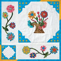 Quilting and Machine Embroidery—what a great combo!