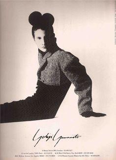 Yohji Yamamoto Fashion Advertisement Nick Knight 1982 | eBay