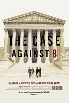 Fascinating and emotional journey of the California Prop. 8 gay marriage ban case on its five year journey to the Supreme Court with its two plaintiff couples plus the extraordinary coupling of the conservative legal star Ted Olson and liberal David Boies (rivals in Bush v. Gore).  A riveting & moving opportunity to see history unfold before your eyes.