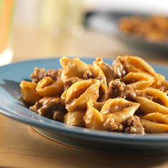 Cheeseburger Pasta -- This easy, flavorful, one-skillet supper takes pantry ingredients and combines them to make a delicious dish that's sure to become a family favorite!