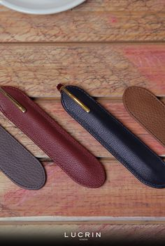 Single pen sleeve, crafted from premium quality leather. This pen sleeve is the perfect way to carry your favorite pen in style. Desk Set, Pen Case, Leather Craft, Purpose, Iphone, Leather Crafts
