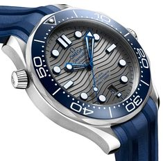 The new Omega Seamaster Professional Diver watch for Baselworld 2018 with images, price, background, specs, & our expert analysis. Dream Watches, Sport Watches, Cool Watches, Fine Watches, Omega Seamaster Diver 300m, Omega Speedmaster, Gents Watches, Rolex Watches, Omega Railmaster
