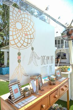 Use the big canvas as a guest book