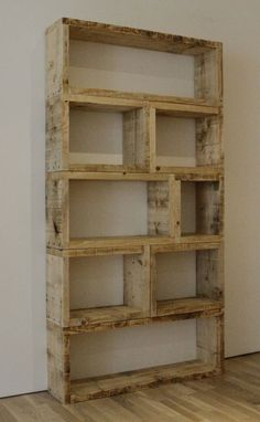 Art diy pallet bookshelves love. add some paint..perfect! home