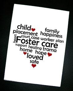 Foster Care card
