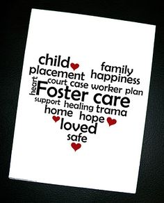 Foster Care card