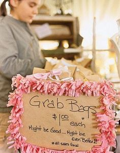 Such a cute fundraiser idea to surprise and delight! :)