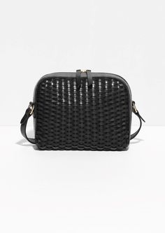 Striped: Bag, & Other Stories, Leather Bag, Weave Bag, Clutch & Strap Bag / Garance Doré