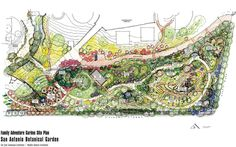 Sketches from Ten Eyck Landscape Architects of Austin and Weddle Gilmore Architects of Scottsdale, Arizona, show the new Family Adventure Garden, part of a planned 8-acre expansion at the San Antonio Botanical Garden. Photo: Courtesy San Antonio Botanical G