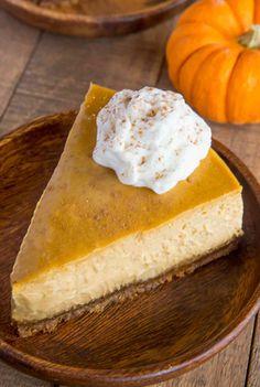 Ultimate Pumpkin Cheesecake - Dinner, then Dessert