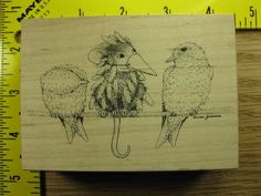 Stampa Rosa Rubber Stamp House Mouse Guess Who? Design of the Month 2002 #13 #StampaRosa