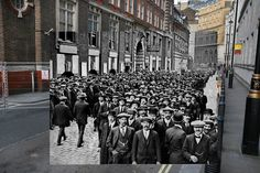 Scotland Yard, London. | 11 Time-Travelling Photos Of World War One: Then And Now