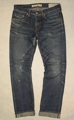 Washi Jeans 1st Collection -   Gampi (Slim)  Torinoko Wash (Front)   All Japan Made. From factory to your home.   Available at www.washijeans.com