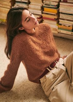 Sézane - Pull Paulin Source by susiAB fall outfits dresses long sleeve Mode Outfits, Fall Outfits, Fashion Outfits, Club Outfits, Winter Outfits For Teen Girls, Chunky Knitwear, Paris Mode, Looks Vintage, Mode Inspiration