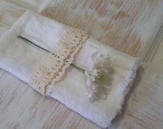 White Linen Napkin, Table Napkin, Linen Napkin, Dinner Napkin, Serviette,