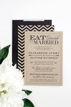 Kraft Eat Drink & Be Married  Wedding by stewartdesignstudios, $5.00